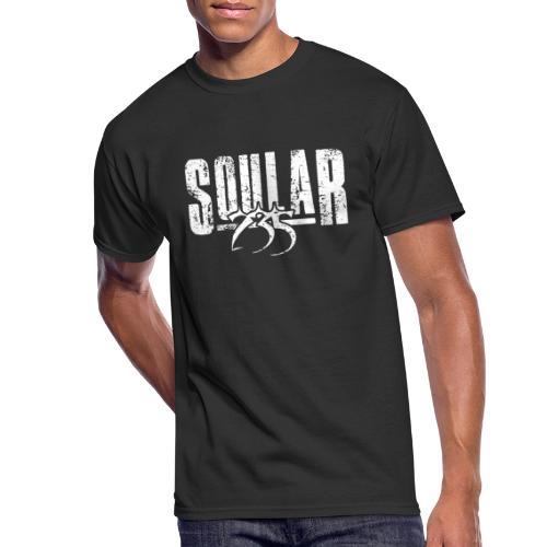 Soular235 White Logo - Men's 50/50 T-Shirt