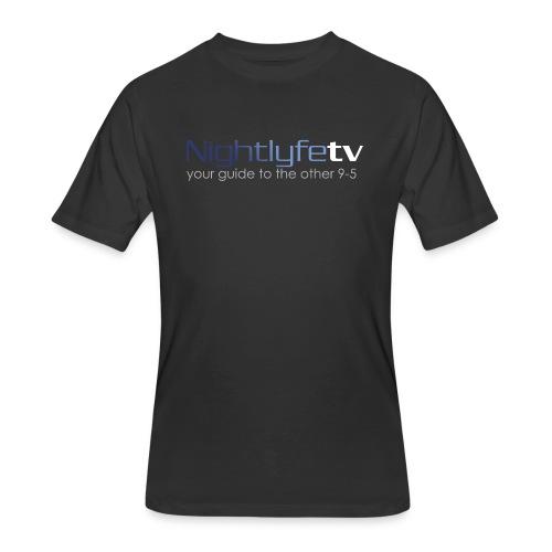 NTV Logo Full - Men's 50/50 T-Shirt
