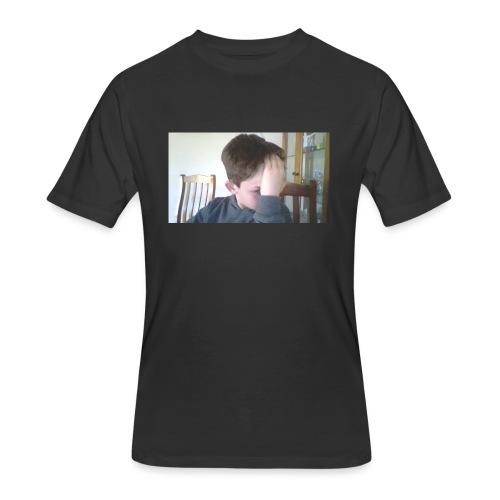 Luiz FAce!! - Men's 50/50 T-Shirt