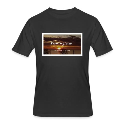 THE HAPPY CANADIAN - Men's 50/50 T-Shirt