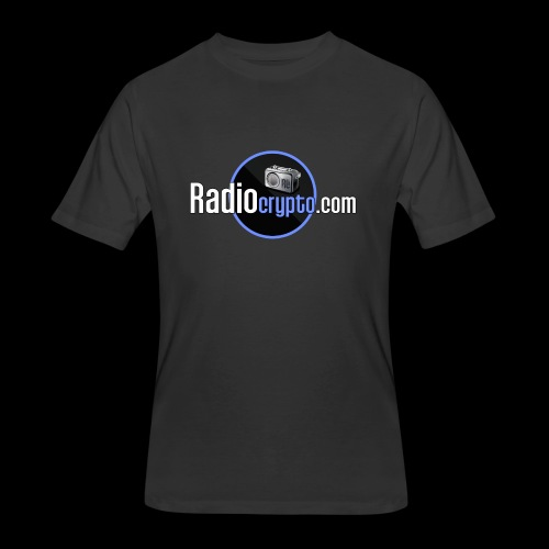 RadioCrypto Logo 1 - Men's 50/50 T-Shirt