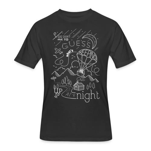 Up at Night Design - Men's 50/50 T-Shirt
