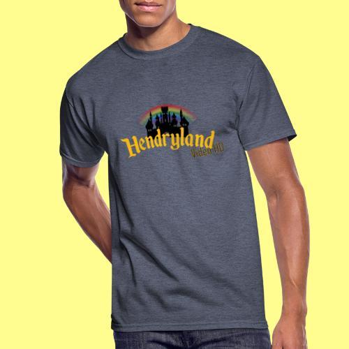 HENDRYLAND logo Merch - Men's 50/50 T-Shirt