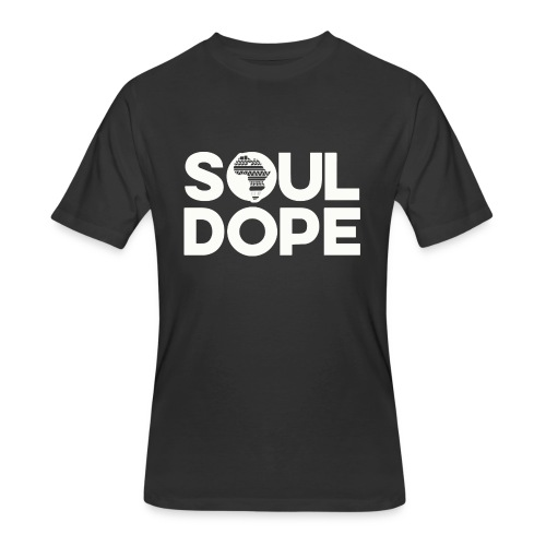 souldope white tee - Men's 50/50 T-Shirt