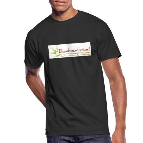 Bamboo-Fusion company - Men's 50/50 T-Shirt