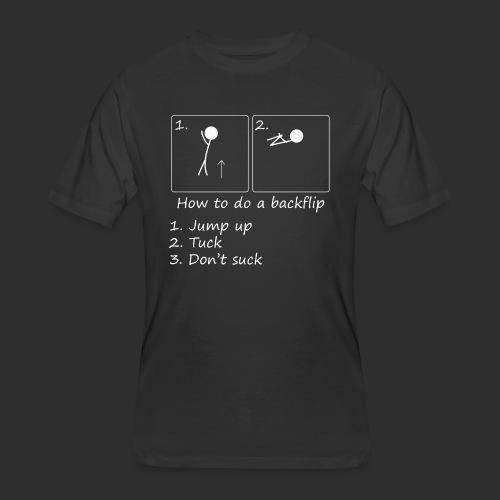 How to backflip (Inverted) - Men's 50/50 T-Shirt