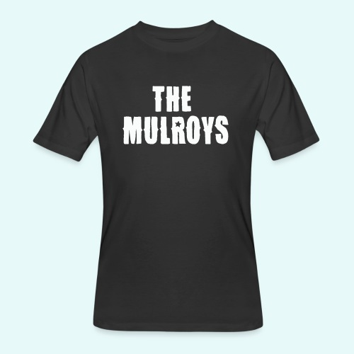 Mulroys Tee 10 white - Men's 50/50 T-Shirt