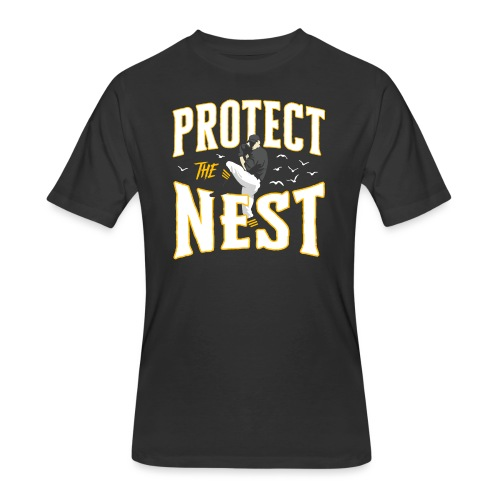 Protect the Nest - Men's 50/50 T-Shirt