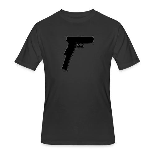 Mopstickin' - Men's 50/50 T-Shirt