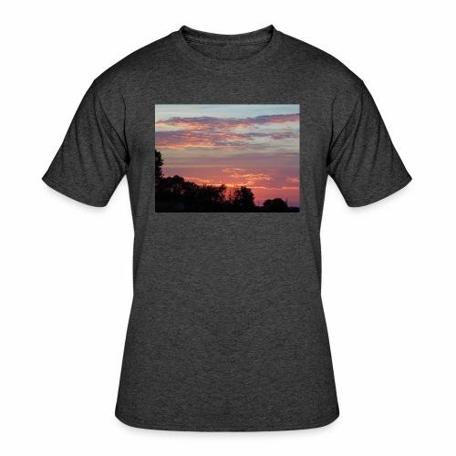 Sunset of Pastels - Men's 50/50 T-Shirt