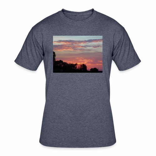 Sunset of Pastels - Men's 50/50 T-Shirt