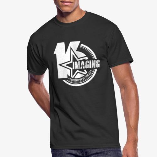 16IMAGING Badge White - Men's 50/50 T-Shirt