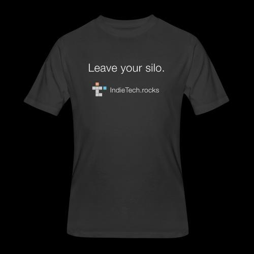 Leave Your Silo - Men's 50/50 T-Shirt
