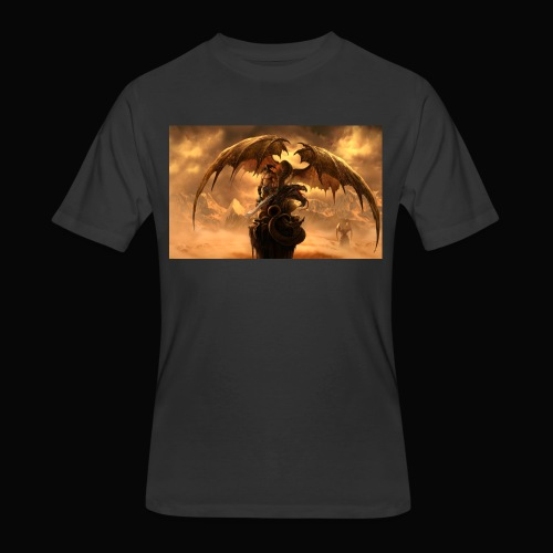 Dragon féroce - Men's 50/50 T-Shirt