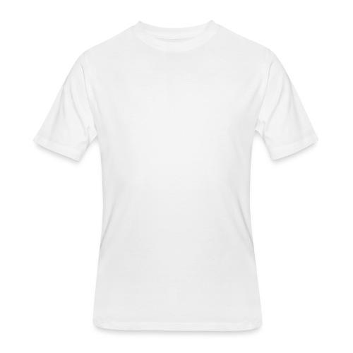 KTR Logo White - Men's 50/50 T-Shirt