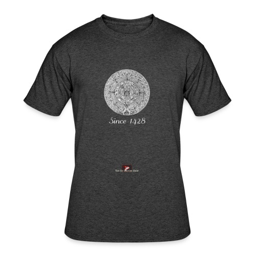Since 1428 Aztec Design! - Men's 50/50 T-Shirt