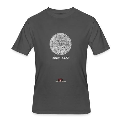 Since 1428 Aztec Design! - Men's 50/50 T-Shirt