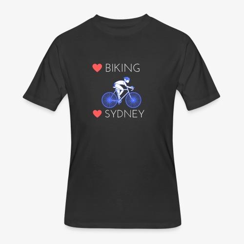 Love Biking Love Sydney tee shirts - Men's 50/50 T-Shirt