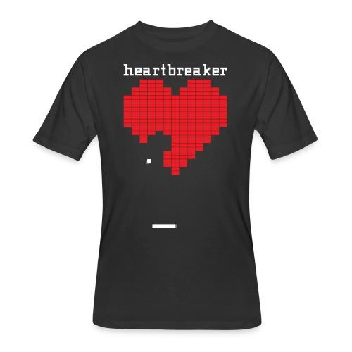 Heartbreaker Valentine's Day Game Valentine Heart - Men's 50/50 T-Shirt