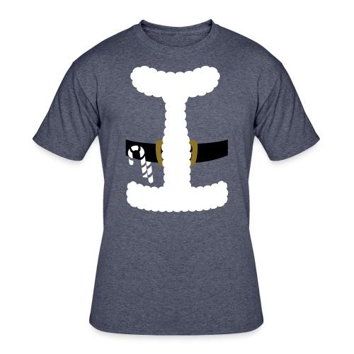 SANTA CLAUS SUIT - Men's Polo Shirt - Men's 50/50 T-Shirt
