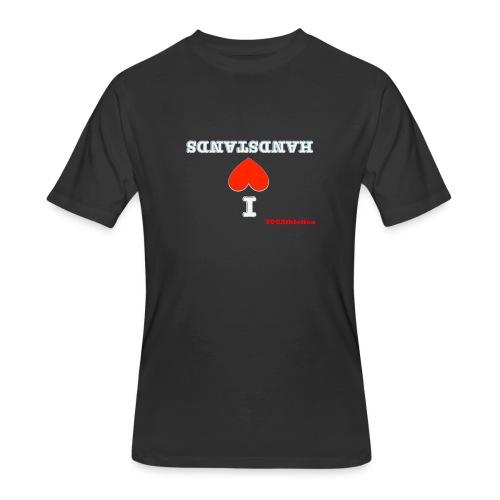 i love handstands - Men's 50/50 T-Shirt