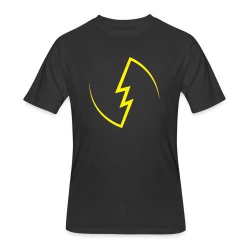 Electric Spark - Men's 50/50 T-Shirt