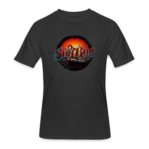 Large SunBug Logo distressed - Men's 50/50 T-Shirt