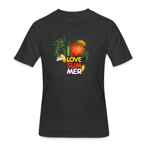I love summer - Men's 50/50 T-Shirt