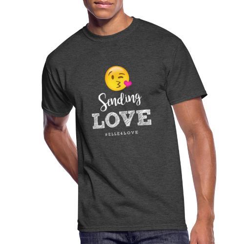 Sending Love - Men's 50/50 T-Shirt
