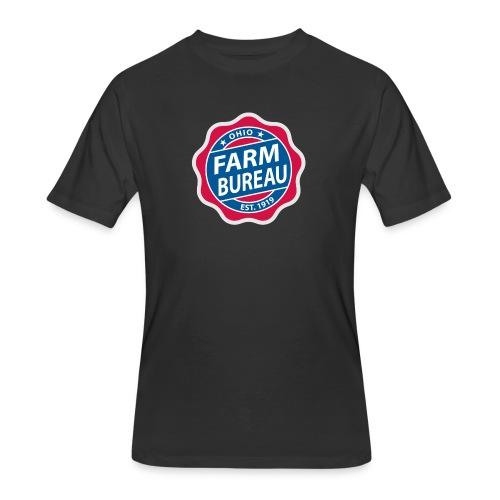 Color Logo - Men's 50/50 T-Shirt