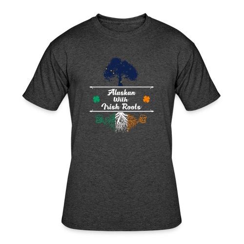 ALASKAN WITH IRISH ROOTS - Men's 50/50 T-Shirt