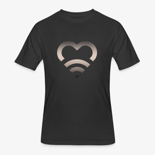 I Heart Wifi IPhone Case - Men's 50/50 T-Shirt