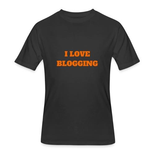 iloveblogging - Men's 50/50 T-Shirt