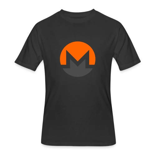Monero crypto currency - Men's 50/50 T-Shirt