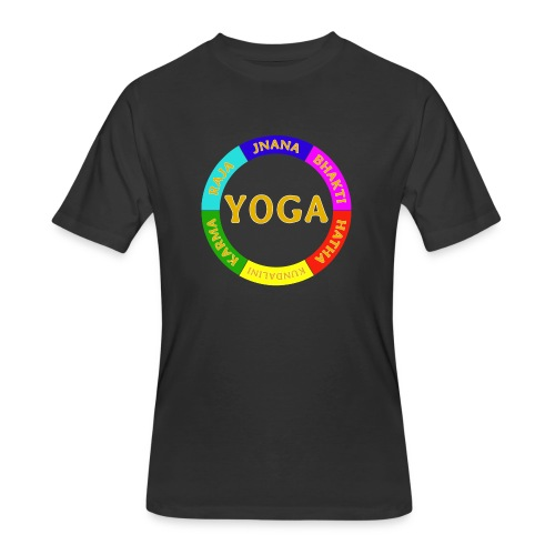 6 ways of Yoga - Men's 50/50 T-Shirt