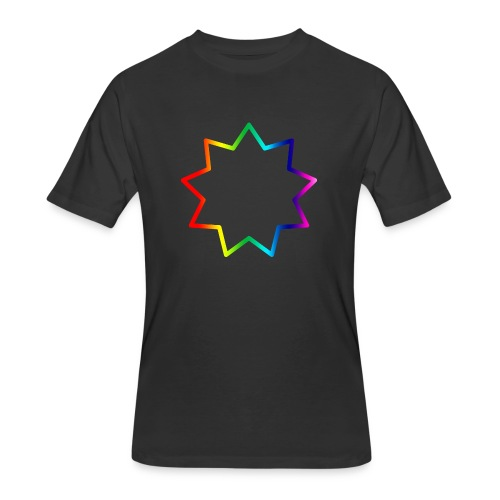 Baha´i rainbow - Men's 50/50 T-Shirt