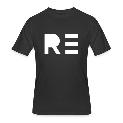 RE Logo - Men's 50/50 T-Shirt