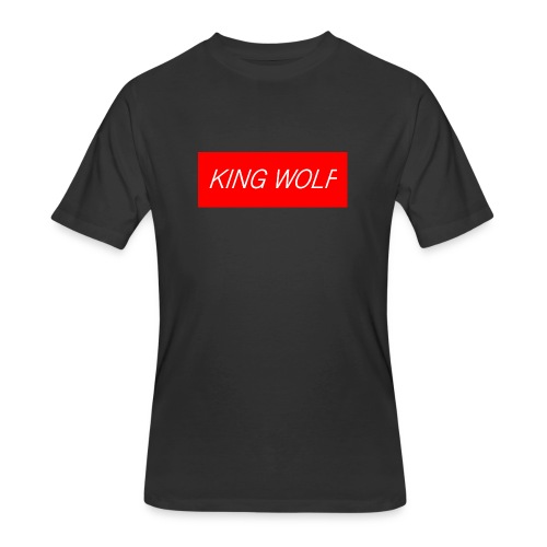 KING WOLF - Men's 50/50 T-Shirt