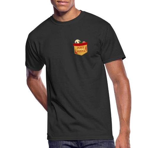 Just feed me pizza - Men's 50/50 T-Shirt