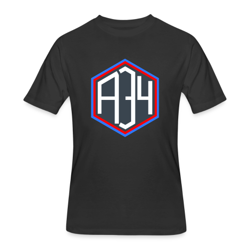 Adrian 34 LOGO - Men's 50/50 T-Shirt