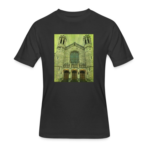 Green gothic cathedral - Men's 50/50 T-Shirt