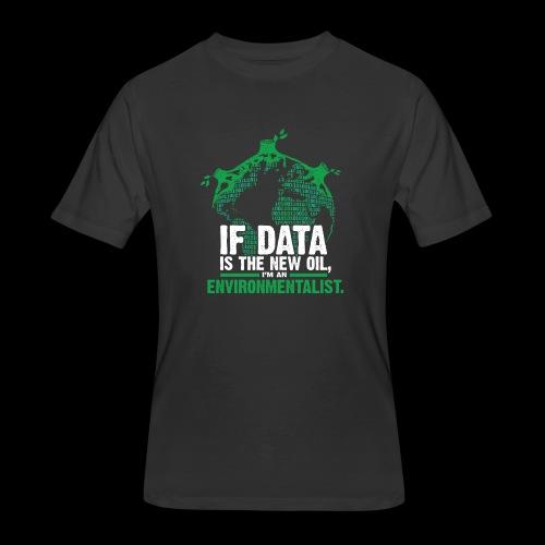 Data Environmentalist - Men's 50/50 T-Shirt