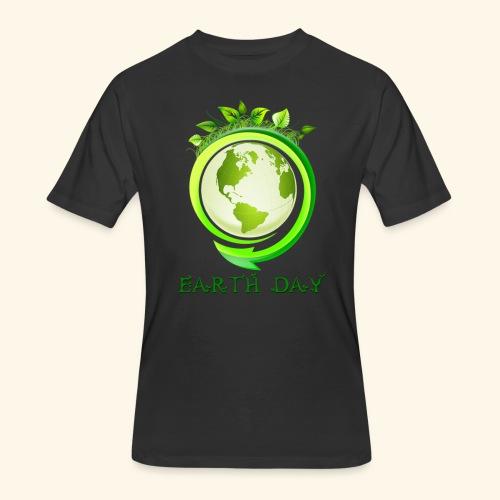 Happy Earth day - 2 - Men's 50/50 T-Shirt