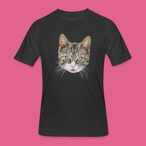 cathead color Edited - Men's 50/50 T-Shirt