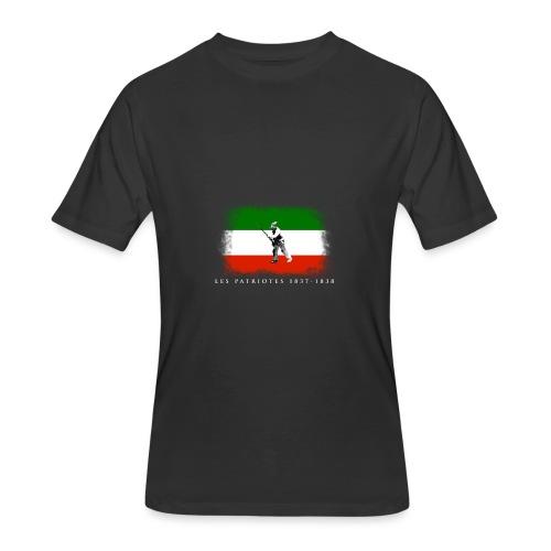 Patriote 1837 1838 - T-shirt 50/50 pour hommes