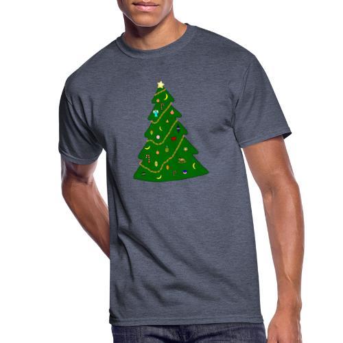 Christmas Tree For Monkey - Men's 50/50 T-Shirt
