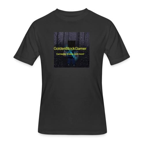 GoldenBlockGamer Tshirt - Men's 50/50 T-Shirt