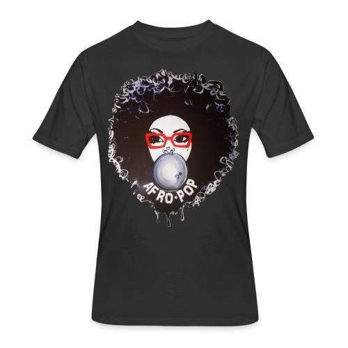 Afro pop_ - Men's 50/50 T-Shirt