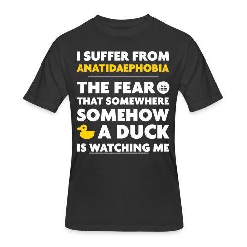 Anatidaephobia - Men's 50/50 T-Shirt