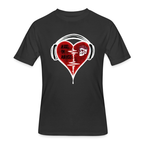 Axelofabyss Music in your heart - Men's 50/50 T-Shirt